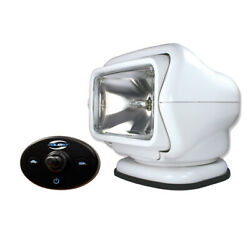 Golight Stryker Searchlight 12v W/wired Dash Control W/20and039 Wire Harness - White