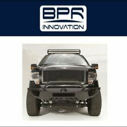 Fab Fours For 2009-2014 Ford F-150 Vengeance Front Bumper - Ff09-d1952-1
