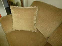 Huffman Koos Chenille Couch Sofa Mint
