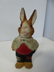 Vintage Easter German Candy Container Peter Rabbit