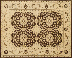 Loloi Vernon 5and039-6 X 8and039-6 Area Rugs With Brown And Lt Gold Vernvn-01brld5686