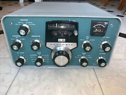 Heathkit Sb 303 Ham Radio Receiver With Filters In Working Cond. Replaced Case.