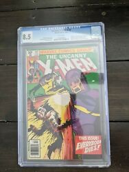 Uncanny X-men 142 Cgc 8.5 Newsstand White Pages Days Of Future Past 1981