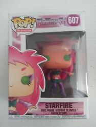 Funko Pop Television Teen Titans Go Starfire 607 Retired Vaulted Oop Rare