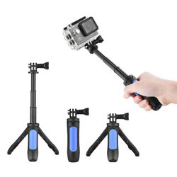 Mini Extension Selfie Stick Tripod Stand Hand Grip For Gopro Hero 3/5/4/3+3 Y9d8