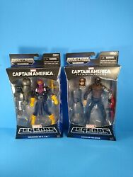 Marvel Legends Baron Zemo And Winter Soldier From The Mandroid Baf Rare Nice