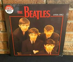 THE BEATLES 1958 1962 Limited Import 180G RED COLORED VINYL LP NewSealed
