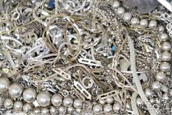 Resellers Lot Sterling Silver Necklaces Chains Asst,signed Bulk Lot 1000dwt21269