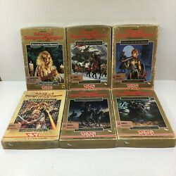 Advanced Dungeons And Dragons Commodore Amiiga Games Lot W/ Boxes And Manuals