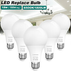 50w 180w Equivalent Led Light Bulb 6500k 1800lm Cool Daylight Clear White Us