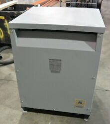 Acme 75 Kva 1 Phase Transformer 240x480 To 120/240v T-1-53021-3s Ttr Tested