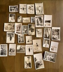 Lot Of 30 Antique African Americana Photos Early 1900s To 1960s Black Americana