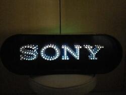 Sony Neon Display Sign Promotional Vintage Lights