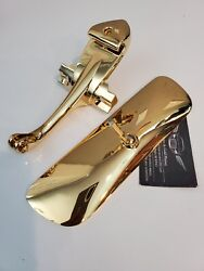 1965-66 Impala 24kt Gold Rear View Mirror And Bracket Hardtop