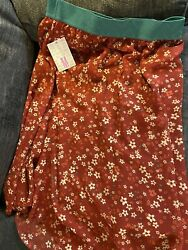 Lularoe Lola Skirt Med Brand New W Tag Great Gift Floral