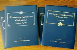 Presidential And Statehood Coin Collection - Complete 50 State - 4 Volume Set