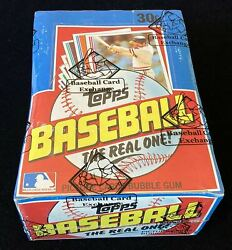 1982 Topps Baseball Unopened Wax Box Bbce Fasc From A Sealed Case Free Shipping