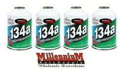 R134a Refrigerant Johnsenand039s 4 Cans A/c 12oz Can Auto Car Air Conditioning Ac