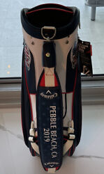 Limited Edition Collectors Callaway Us Open Staff Bag + Custom Headcovers
