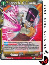 4 Android 20 Skill Absorber | Dragon Ball Super Card Supreme Rivalry Bt13-116