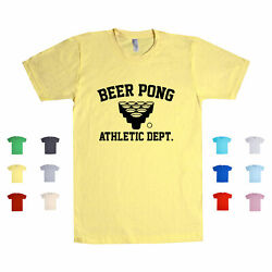 Beer Pong Athletic Dept Sports Athletic Fun Liquor Game Players Unisex T Shirt