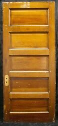 3 Avail 34x78x1.75 Antique Vintage Old Interior Solid Wood Wooden Doors Panel