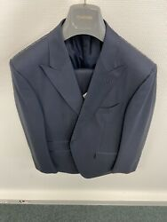 New 4k Tom Ford Model Oand039connor Suit Wool Us 42 Eu 52 Blue