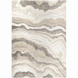 Orian Mystical Cascade Natural 7and03910 X 10and03910 Area Rugs 7002