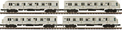 Mth 20-2717-1 R40 4-car Subway Set With Proto-sound 2.0 O Scale Passenger Cars