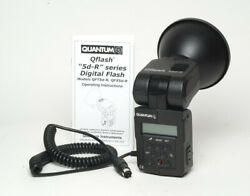 Mint Quantum Qflash T5d-r T5dr Ttl Flash And Manual For Canon Nikon And More