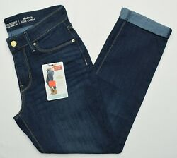 Signature By Levi Strauss 11055 New Womenand039s Modern Slim Cuffed Stretch Jeans