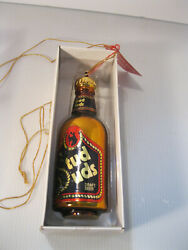 Stud Suds Beer Christmas Ornament Vintage With Box Gold Red