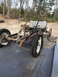 Renault Nn 1923 Chassis Engine And Miscellaneous Parts