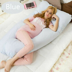 Pregnancy Pillow Maternity Belly Contoured Full Body U Shape Extra Comfort
