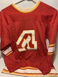 Vintage Atlanta Flames Jersey Rawlings Usa Hockey Small Excellent Condition