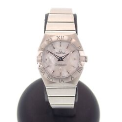 Omega Constellation Watches 123.10.24.60.05.001 Silver Color/stainless Steel
