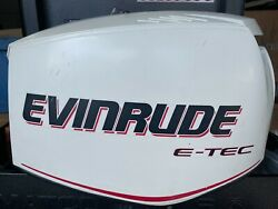 Evinrude Etec 90 Engine Cover Cowl Cowling Top 285651