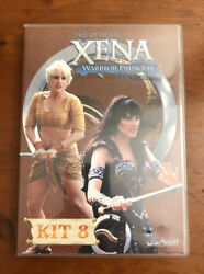Xena Warrior Princess Official Fan Club Kit 8 Dvd Lucy Lawless