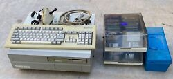 Vintage Commodore Amiga 2000 With Accessories___parts Only___please Read.