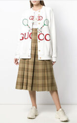 Reversible Tenis Cardigan Jacket-with Tags- Rrp3200 Aud