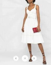 Alexander Mcqueen Ivory Denim Dress- New With Tags - Rrp3250 Aud