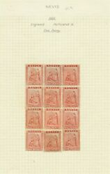 St Kitts And Nevis 1866 1d Unused Sg 9 Cat £780