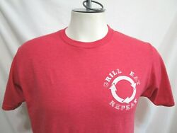 Euc Sonoma Grill, Eat, Repeat Bbq Cook Out Red Foodie T Shirt Men M