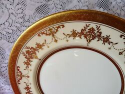 Minton England - One - Discontinued Riverton K227 - Service Dinner Plate