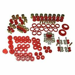 Energy Suspension Red Master System For Chevelle Monte Carlo El Camino 1968-1972