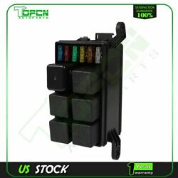 12v 40a Relay Fuse Box Block Holder Automotive Universal Atc/ato For All Vehicle
