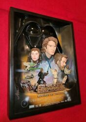 Star Wars Episode Iii 3d Movie Poster Sculpture Revenge Of The Sith 2445/5000