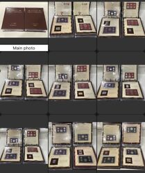 Pcs 25 Years Of Americaand039s Finest Coinage 1968-1992 Complete Set - 2 Albums