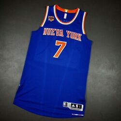 100 Authentic Carmelo Anthony Nueva York Knicks Game Issued Jersey Size L+2
