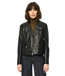 Marc New York Womenand039s Nysa Motorcycle Leather Jacket